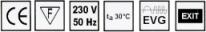 Eigenschaften LED-Notleuchte L-LUX Standard