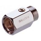 Mini-Kugelhahn Ballofix Innen-/Außengewinde - Chrom - DN 20 - RG 3/4''